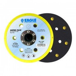 Eagle 6 inch Super-Tack Back-Up Pad (15 holes)