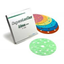 Super Assilex 6 inch Super-Tack Discs (15 holes)