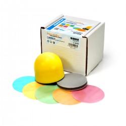 Yellow-Film 3 inch Mini-Sanding Disc Kit